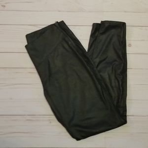 BLANKNYC faux leather black leggings
